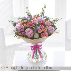Happy Birthday Cottage Garden Handtied
