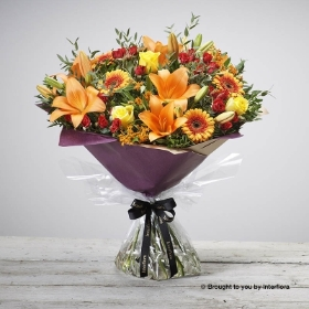 Golden Glory Hand-tied
